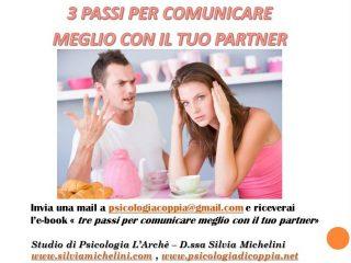 Tre passi per comunicare meglio con il tuo partner
