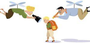 genitore che passa i confini del figlio